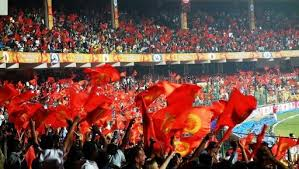 IPL - RCB fans at the Chinnaswamy