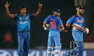 After Yuvraj Singh's wicket