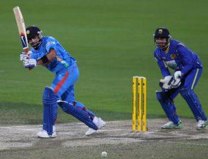 Virat Kohli due course of his 133*