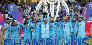 Cricket World Cup 2023: Defending champions England.