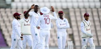 This is West Indies' only second win in England post 2000