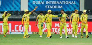 Chennai Super Kings finally sealed a win