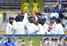10 most significant cricketing moments
