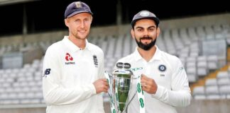 India vs England Test seires