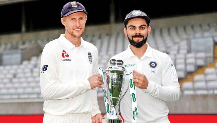 India vs England Test seires