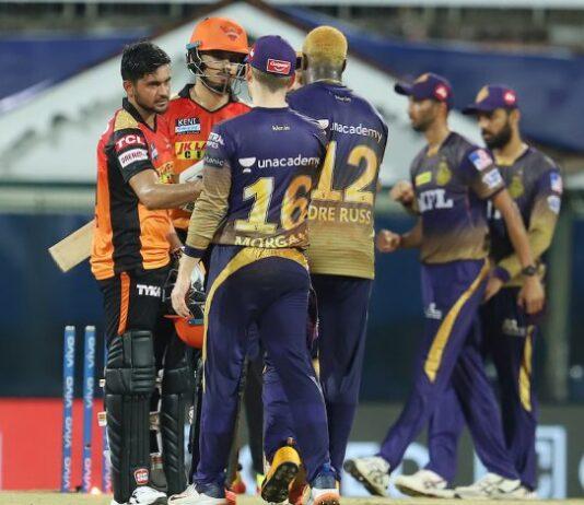 Sunrisers Hyderabad vs Kolkata Knight Riders