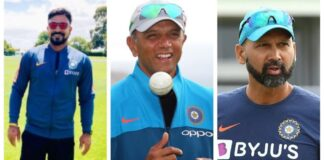The Indian coaches for the Sri Lanka tour