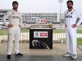 India vs New Zealand - ICC World Test Championship Final 2019-21