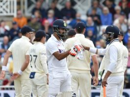 KL Rahul and Ravindra Jadeja did the bulk of the scoring for India