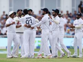 Indian bowlers had a good day on the field
